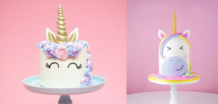 Unicorn Cake Bazinga Parties
