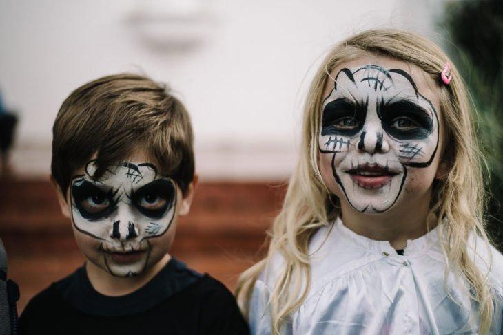 Kids Halloween Birthday Face-painting Bazinga Parties