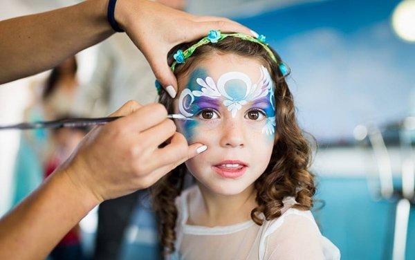 Princess Face Paint Bazinga Parties