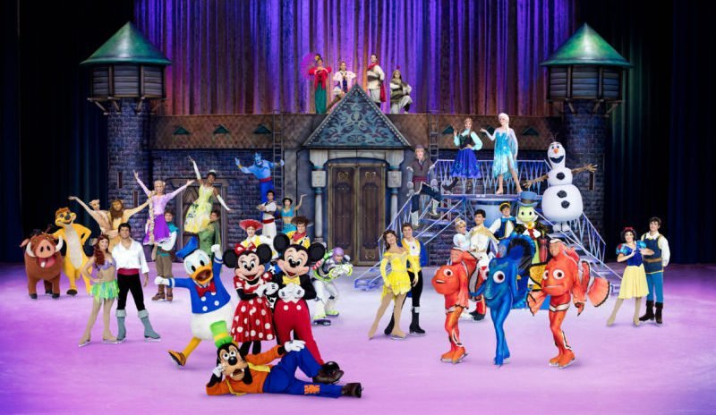 Bazinga Parties - Things to do with kids Disney on Ice