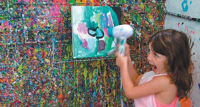 Bazinga Parties things to do with kids Artjamming