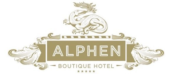 The Alphen Hotel Logo Bazinga Parties