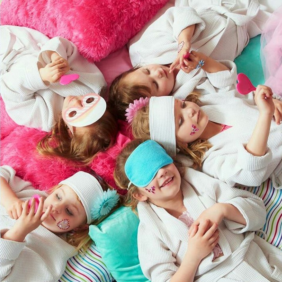 Kids Pamper Party Bazinga Parties Cape Town