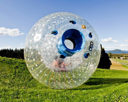 Zorb Balls to Rent Cape Town Bazinga Parties