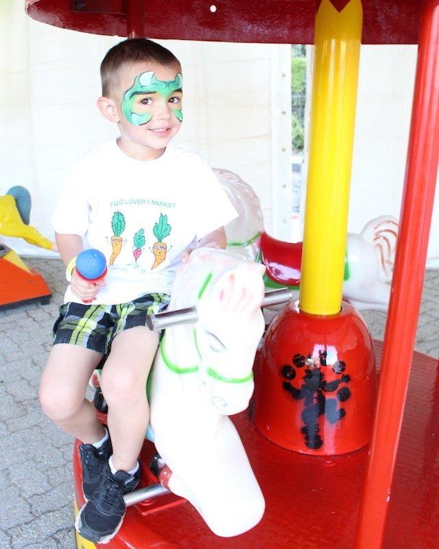 Kids Carousel Ride Cape Town Bazinga Parties