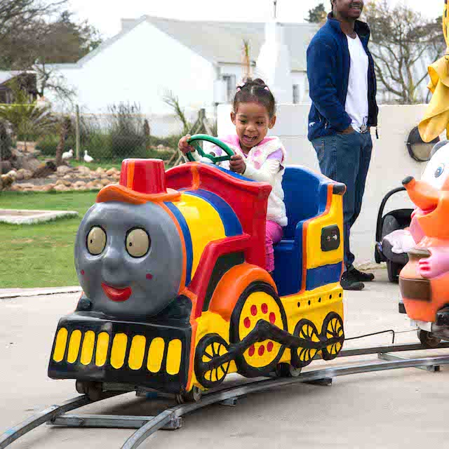 Electric Train Kiddie Rides by Bazinga