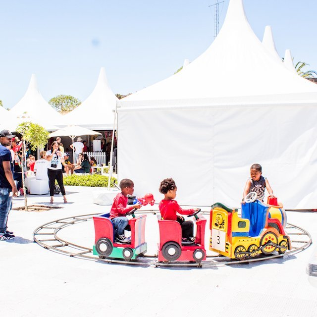 Bazinga Parties Kiddies Rides Cape Town