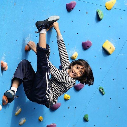 City Rock Climbing Party Kids by Bazinga