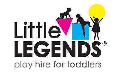 Little Legends Logo Bazinga Parties CT