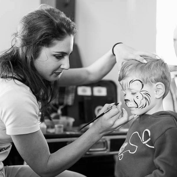 Face Painting Cape Town Bazinga