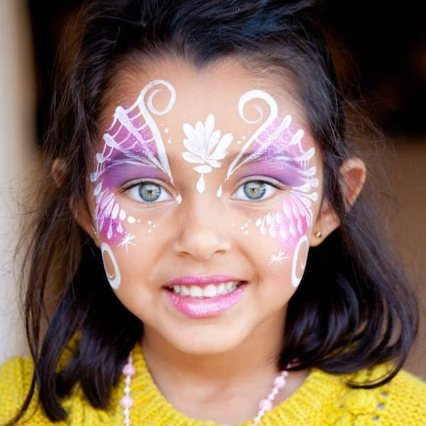 Mermaid Face Paint Bazinga Parties Cape Town