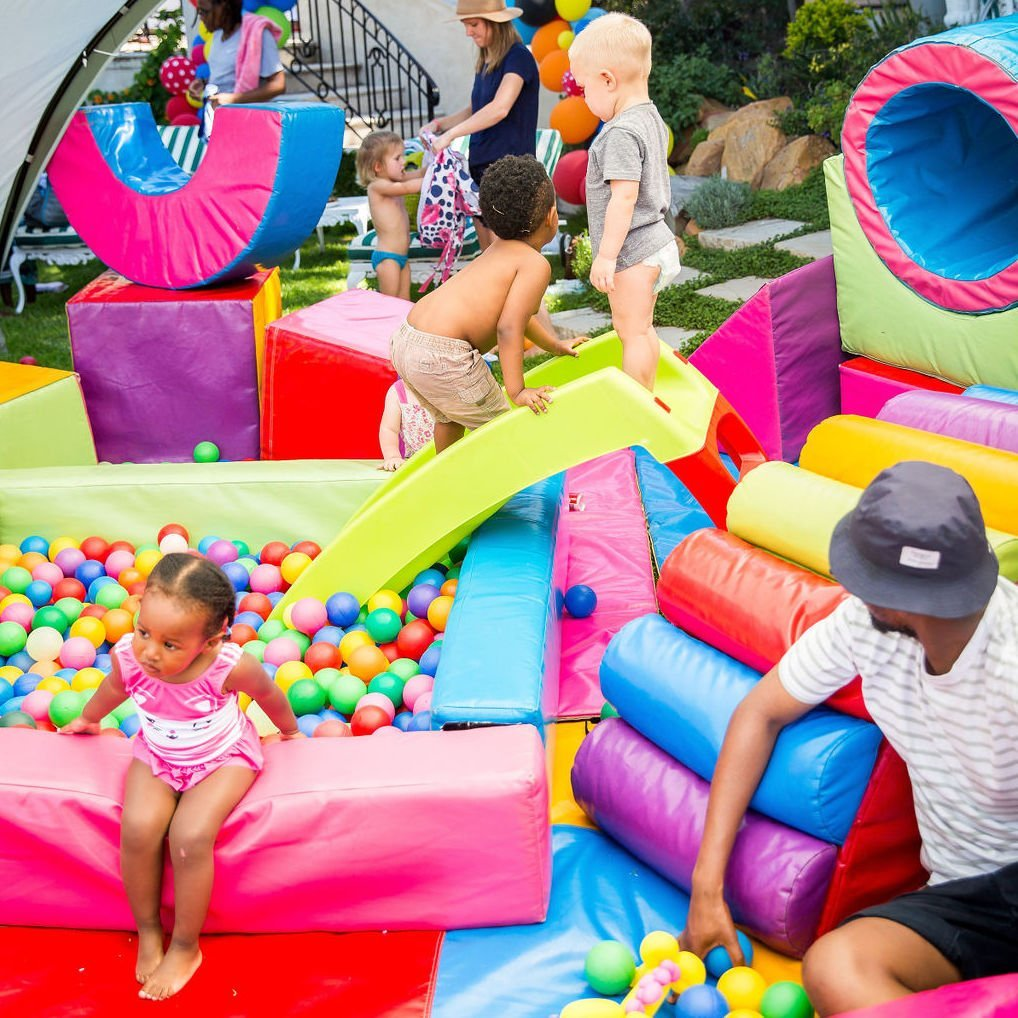 Hire Toddlers Soft play Cape Town Bazinga